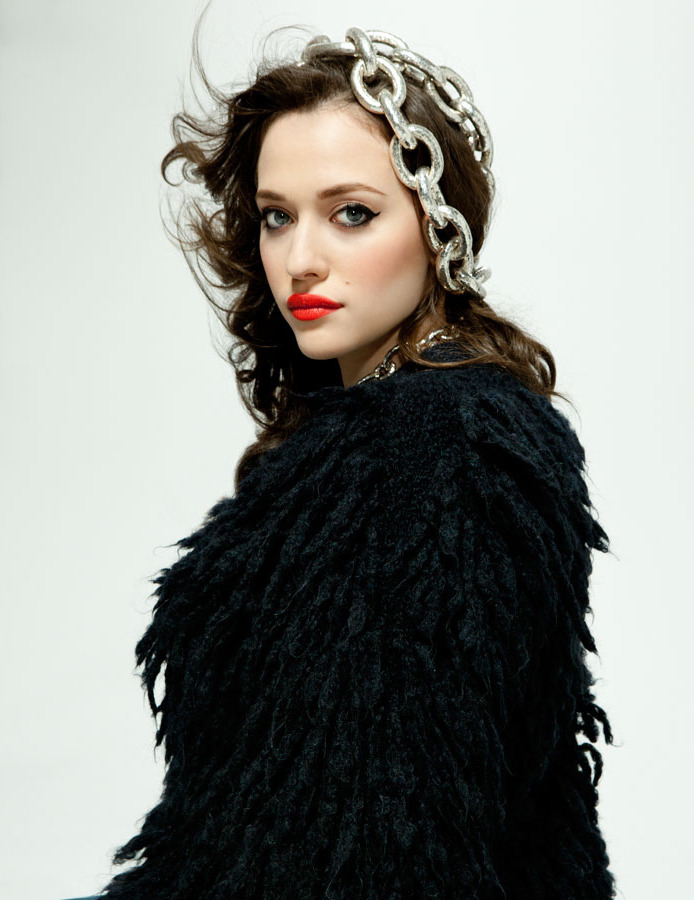 suicideblonde:  Kat Dennings photographed by Sheryl Nields