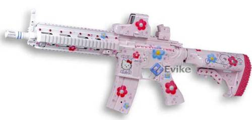 miracledae21:  Hello Kitty AEG Custom 416HK