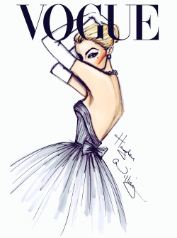 haydenwilliamsillustrations:  'J'adore Vogue' by Hayden Williams