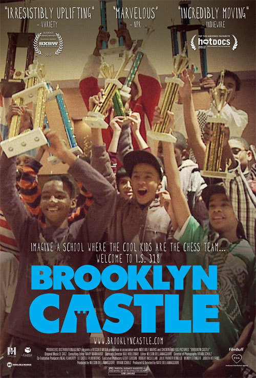 Brooklyn Castle, an incredible documentary about a middle school chess team in Brooklyn, airs tonight on PBS's POV! Check here for local listings.
