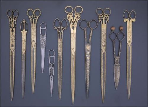 ahomeforbirds:  Iranian and Turkish scissors
