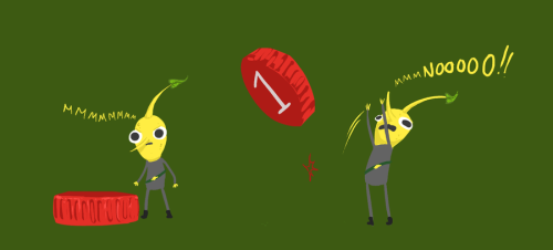 muffinpines:  Lemongrab as a Pikmin