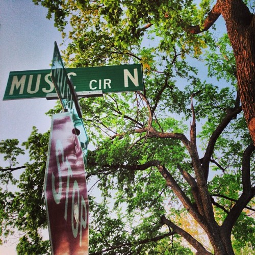Intersecting music streets in Nashville, near Sony, BMI, Warner, etc…