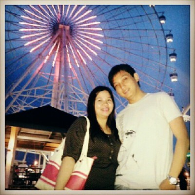 Country's tallest ferris wheel - SKY EYE @ Sky Ranch, Tagaytay City #skyeye #skyranch #ferriswheel #love #birthday