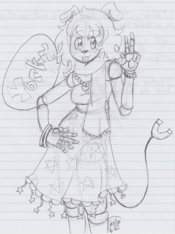 k0ishi:  party-cat-anthem:  just a sketch of yorky  thanks joce thats really cool <3
