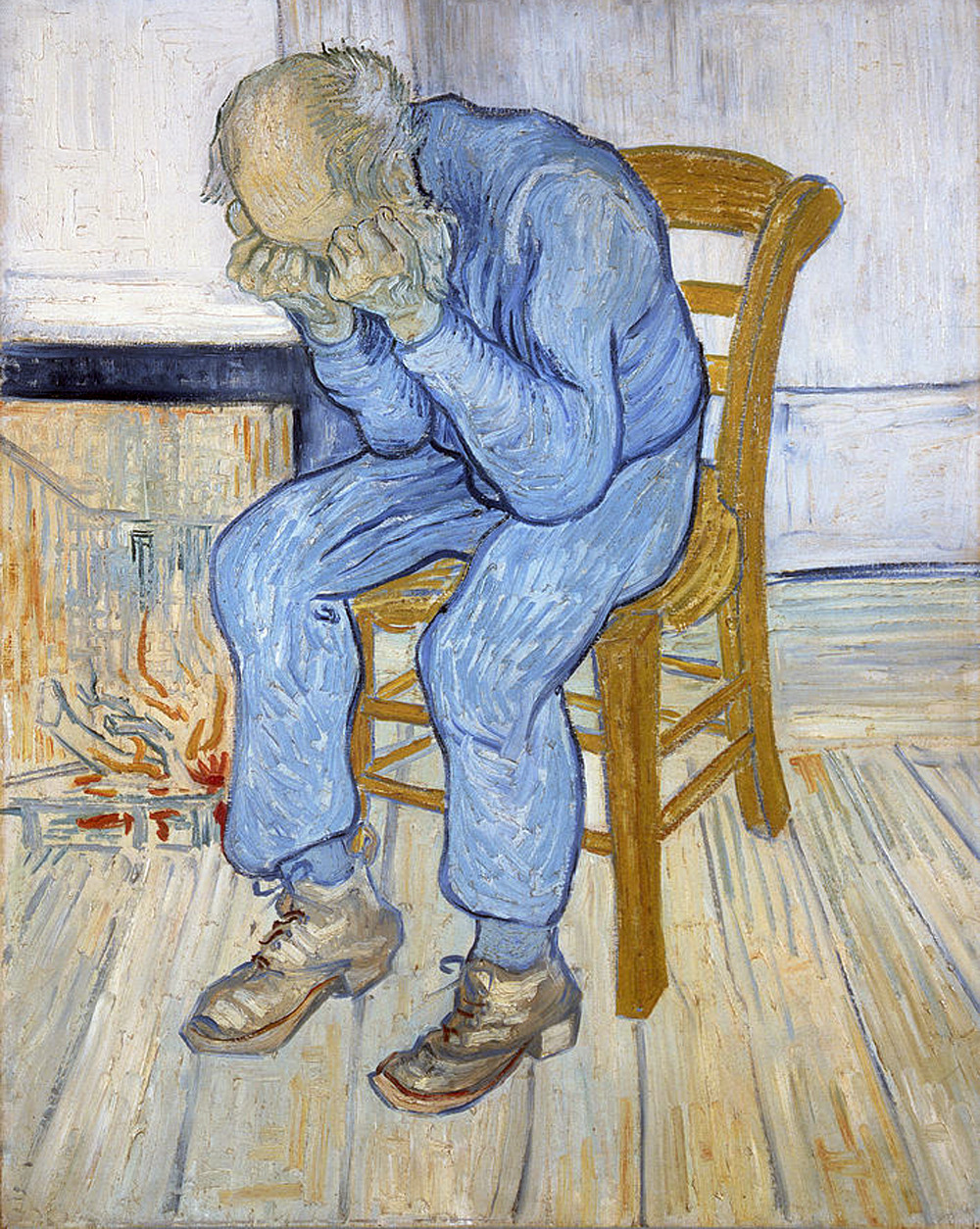 likeafieldmouse:  Vincent van Gogh - Old Man in Sorrow (On the Threshold of Eternity, 1890)