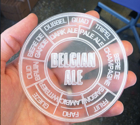 We're working on some beer coasters based on our beer taxonomies. Here's a sneak peek.