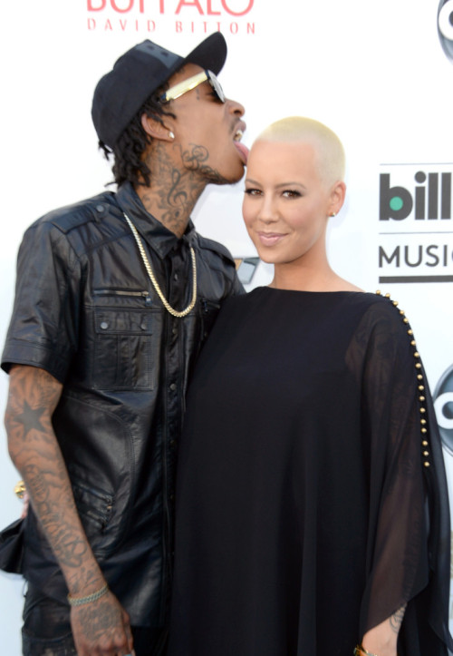 moreculturelesspop:  Amber Rose and Wiz Khalifa- 2013 Billboard Music Awards in Las Vegas 5/19/13