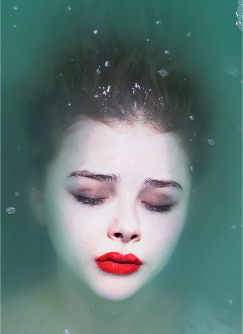 enchantingimagery:  Chloe Moretz by Mert and Marcus.