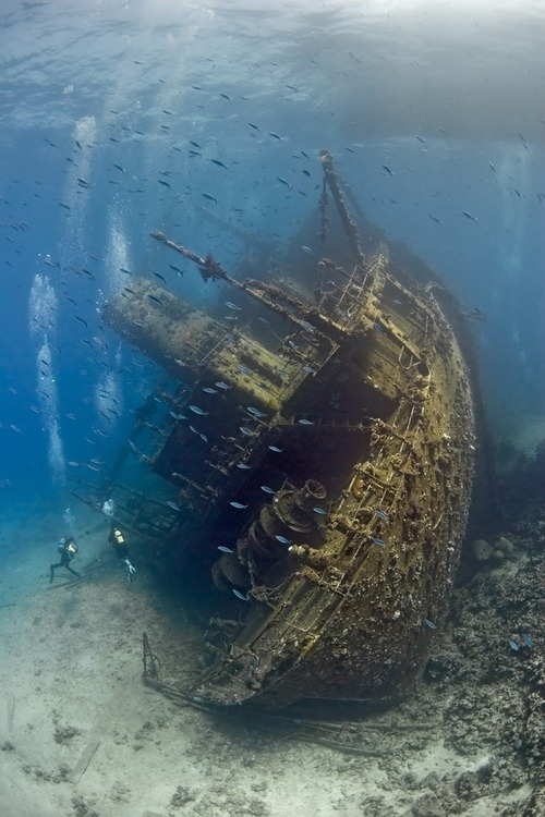 Shipwreck, The Red Sea photo via besttravelphotos