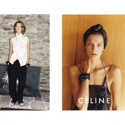 My beloved Daria #ss2013 #fashioncampaigns #céline #dariawerbowy #tedoreloves