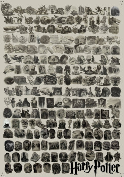 rahskel:  All the Harry Potter chapter illustrations.