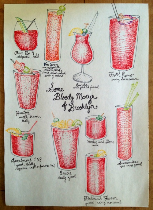 meredithknowseverything:  A portrait of my favorite beverage by my most favorite artist.  Emily!