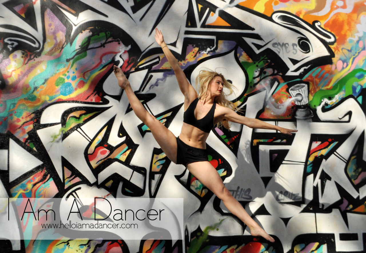"""I am a dancer because it's what I love more than anything else in this world,"" Addison Reese, Abraham.In.Motion company member.  The New York-based dance company was in Miami to perform , Live! The Realest MC, at the Miami Beach Colony Theater."