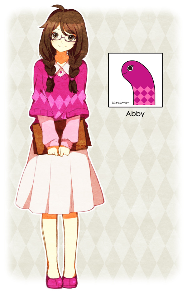 My eeljinka Abby, I redesigned her a little.