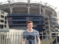 Me outside Croke park Dublin :)