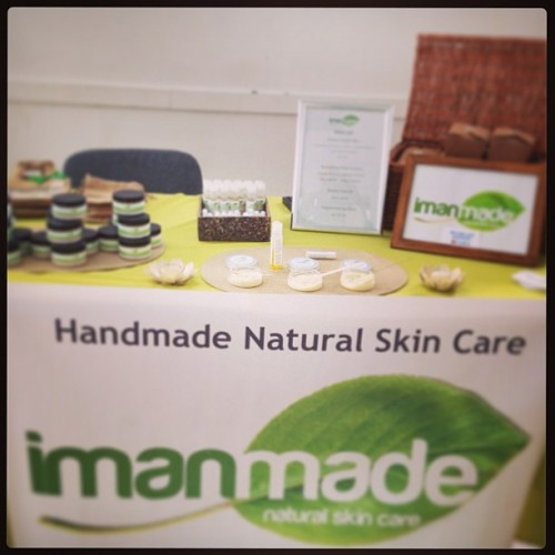 Imanmade Natural Skin Care on sale today at the #NubianWellness event, 90 Eastway, #Hackney. #TeamNaturalUK #NaturalSkinCare #Wellbeing