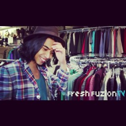 @fresh_fuzion TV interview. Check it out! Started from @lookbookdotnu now we here. http://freshfuzion.com/gallery/denny-balmaceda/