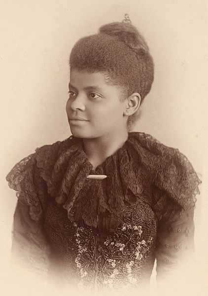 "obitoftheday:  Obit of the Day (Historical): Ida B. Wells-Barnett (1931) Simply put Ida B. Wells-Barnett was one of the greatest leaders of the early civil rights movement in the United States. The daughter of slaves, Mrs. Wells-Barnett was inculcated with an appreciation for education as well as political involvement. (Her father was active in campaigning for black candidates in Mississippi during that short period between the end of the Civil War and the end of Reconstruction when blacks in the South were encouraged to vote.) She lost both of her parents and one sibling during a yellow fever epidemic when she was 16 years old. Now responsible for five younger sisters. she moved her family to Memphis, Tennessee to live with an aunt. She would work as a teacher and in the summer attend Fisk University in Nashville. In 1884, when she was 24, Ms. Wells (she married in 1895) was traveling on the Baltimore & Ohio Railroad in the ""ladies' car."" When a white man could not find a seat on the train, a conductor came to Ms. Wells and demanded that she move to the train car designated for black passengers. Here is how she recounted the event: ""I refused…I proposed to stay…[The conductor] tried to drag me out of the seat but the moment he caught hold of my arm I fastened by teeth in the back of his hand. I had braced my feet against the seat in front and was holding to the back, and as he had already been badly bitten he didn't try it again by himself. He went forward and got the baggageman and another man…and…they succeeded in dragging me out."" [Italics added for emphasis.] Ms. Wells sued the railroad - and won in a Tennessee Circuit Court. Unfortunately the Tennessee Supreme Court found in favor of the railroad. (In 1897, the Supreme Court established the legal doctrine of ""separate, but equal"" in Plessy v. Ferguson which codified segregation across the U.S.) This moment began Ms. Wells' lifelong fight for the rights of African Americans and women. She purchased part-ownership in The Memphis Free Speech, an all-black publication which boldly covered civil rights issues in Tennessee. She ended up leaving the business and fleeing to Chicago in 1892 after the paper published her articles investigating the lynching of three black grocers. She received death threats. In Chicago, she and Frederick Douglass co-wrote a pamphlet titled, The Reason Why the Colored American is Not at the World's Columbian Exposition. (The 1893 Exposition was made famous in the book, Devil in the White City.) In response the leadership of the fair initiated a ""Negro Day."" Ms. Wells and Mr. Douglass were unimpressed. But her primary goal was to end lynching in the South. Peaking between the 1880s and the 1960s, Southern whites would take extra-legal actions against blacks who violated an unwritten ""code"" of behavior. Often in collusion with law enforcement lynch mobs would beat, burn, and hang black men, women, and children for unsubstantiated crimes, for speaking inappropriately, or any reason that would fire up the white population. During her long fight for basic rights, Ms. Wells would meet with President William McKinley, tour England, and was a founding member of the NAACP and the National Association of Colored Women.  Ida B. Wells-Barnett, whose husband Ferdinand founded the first black newspaper in Chicago, The Conservator, was inducted into the National Women's Hall of Fame in 1988 and was honored with a U.S. postage stamp in 1990. She passed away on March 25, 1931 at the age of 68. Sources: www.idabewells.org, Webster University, Duke University, College of Staten Island, Encyclopedia of Chicago, The Tennessee Encyclopedia of History & Culture, National Women's Hall of Fame, and Wikipedia (Image of Mrs. Wells-Barnett is circa 1893 when she was in her early 30s. It is courtesy of www.googleartproject.com)"