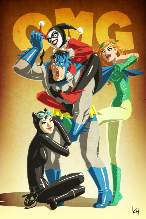 Batman: OMG! // artwork by kit-kit-kit (2012)
