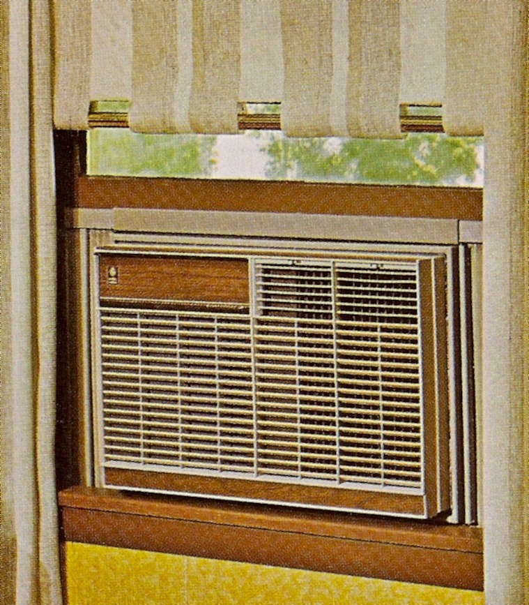 Vintage Room Air Conditioners 1968 General Electric Room