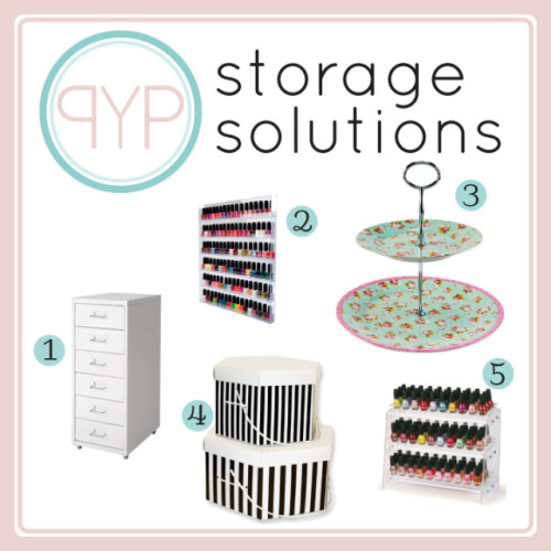 How do you store your nail polish collection? Check out our favourite storage solutions!