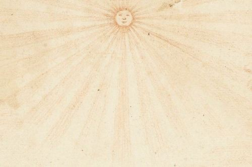 Herman Coets Creation of light and dark 1700s 18th century drawing art history art detail astronomy