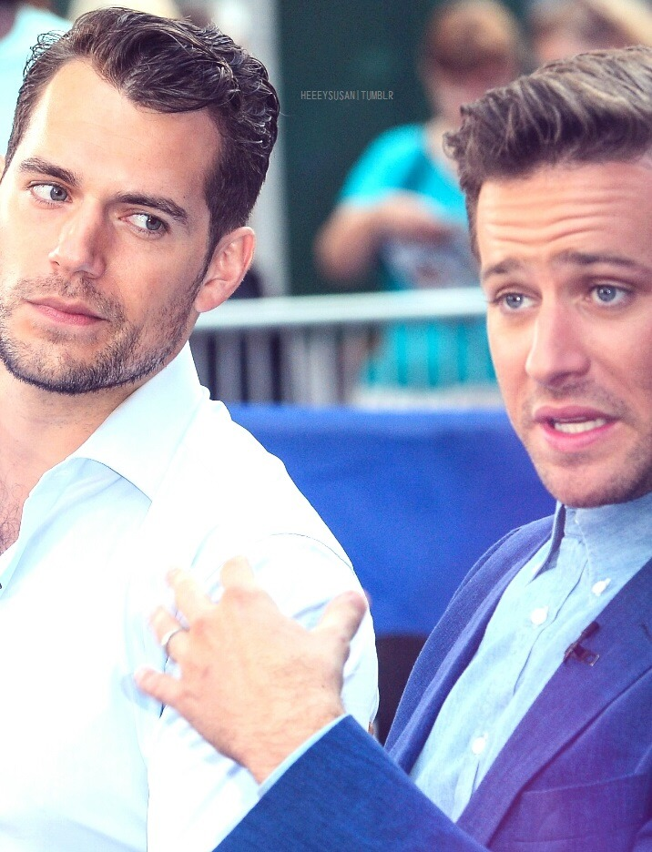 We Are Young Henry Cavill Armie Hammer The Man