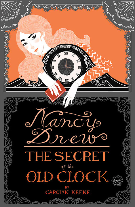 made-by-perrin:  My interpretation of Nancy Drew for a book cover assignment. I am aiming for a little mod-inspired even though it takes places in the 30s. Digital illustration © Perrin 2013.
