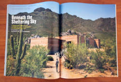 dustdb:  The Tucson Mountain Retreat was recently selected as one of Architectural Record's record house for 2013. See the article here.     Great publicity for DUST and for Tucson!