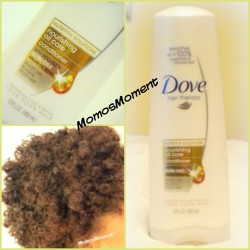 New review up on my blog of the Dove Nourishing Oil Care Conditioner! 💆 http://momosmoment.com/review-dove-nourishing-oil-care-conditioner/ #momosmoment #momo #blogger #blog #dove #conditioner #doveconditioner #naturalhair #curlyhair #teamnatural #teamnaturalhair #blackhair #curly #review #afro #twa