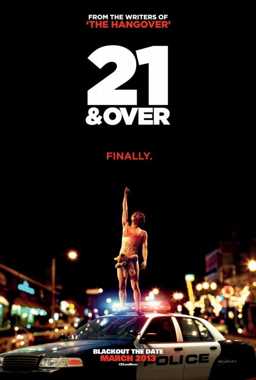 21 and Over (2013)  The night before his big medical school exam, a promising student celebrates his 21st birthday with his two best friends.  Cast: Miles Teller, Skylar Astin, Justin Chon, Sarah Wright, Jonathan Keltz Follow this blog for the neverending list of all the teen movies ever made!