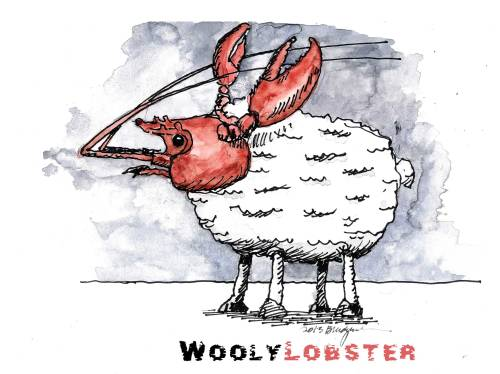 The VERY RARE Wooly Lobster