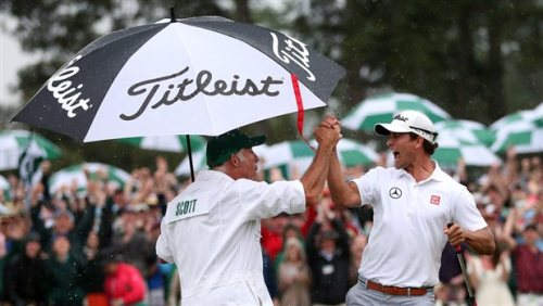 Adam Scott wins 77th Masters in playoff, becoming first Australian to take tournament (Photo: Getty Images)