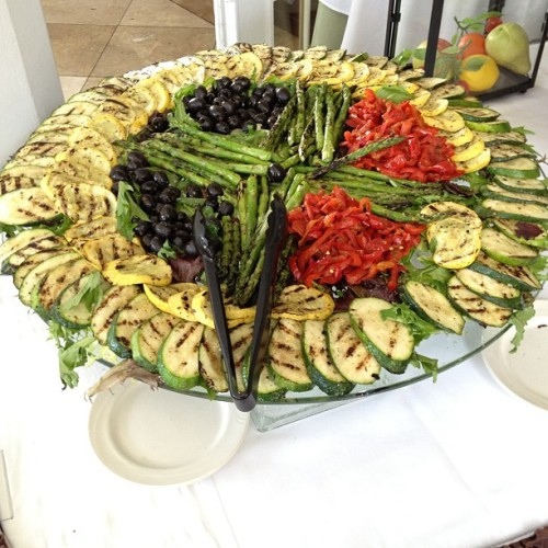 Roasted Vegetable Platter!! #SundayBrunchFlow!!