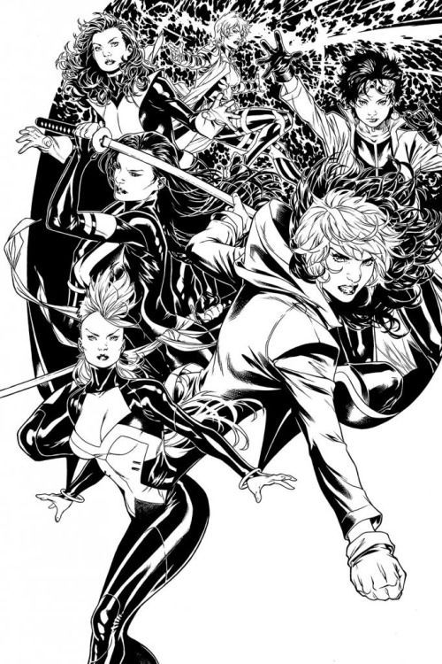 riseofthelegend:  The X-Men #1 by Mark Brooks