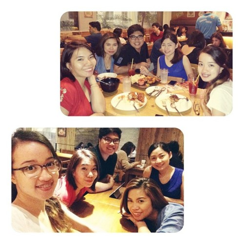 Yesterday's spontaneous night out!  (at Chicken & Beer)