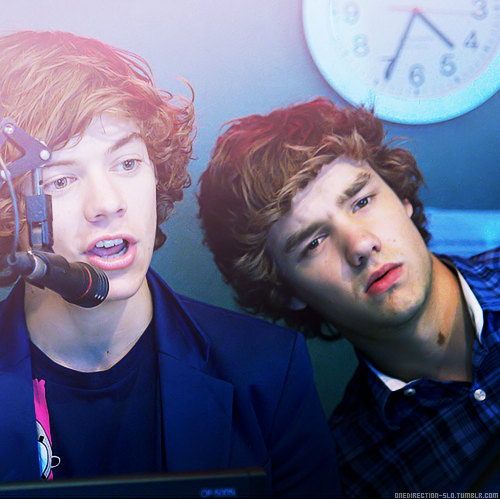 Liam and Harry<3 on We Heart It. http://weheartit.com/entry/46624883