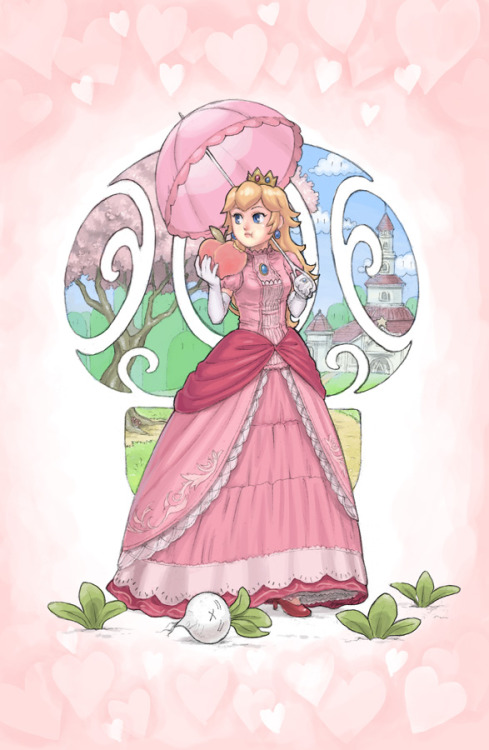 Princess Peach by ~slimu