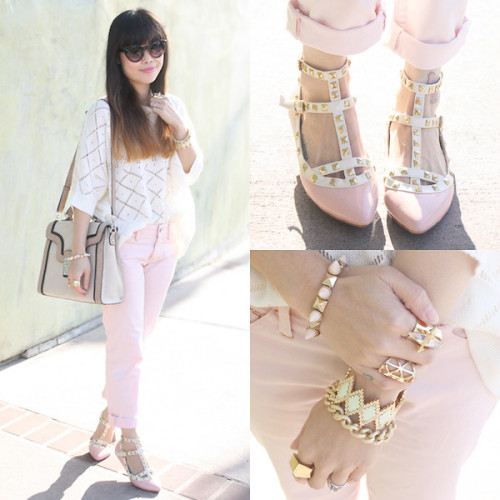 lookbookdotnu:  Blush (by Toshiko S.)  lovely outfit, adore the shoes.