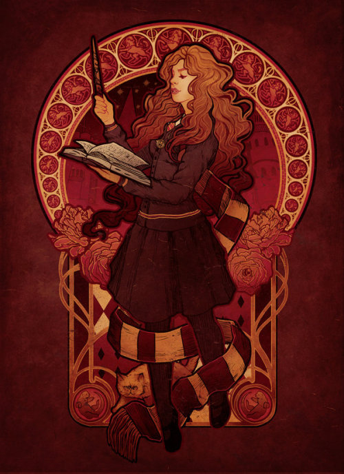 hpotterfanart:  The Brightest Witch of Her Age by =MeganLara