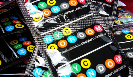 Did you know? The New York City condom turned six on Valentine's Day! Did you know? The New York City condom turned 6 this past Valentine's Day!
