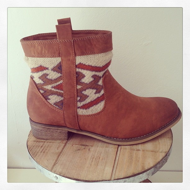 #boots #aztec #therapyshoes #pipisboutique #style #fashion #love #ankleboots