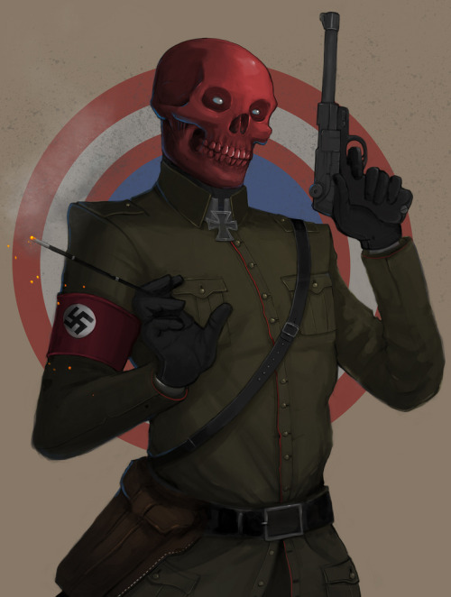 The Red Skull by ~Teratophile