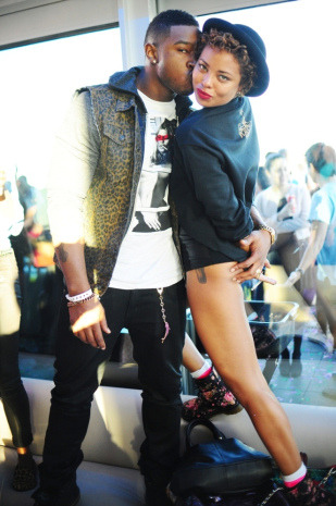 New Couple Alert?:Kevin McCall + Eva Marcille….read more here… [Natles Nicole of everythingYNTK for VIBE Vixen]