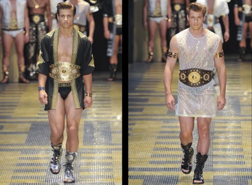 Versace's Spring Summer 2013 snippet for men. What do you think?