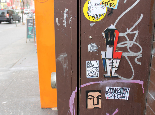 STIKMAN Mondrian Lower East Side. NYC. 2013