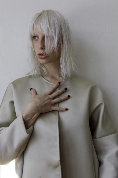 Lili Sumner Test coat Glen Prentice