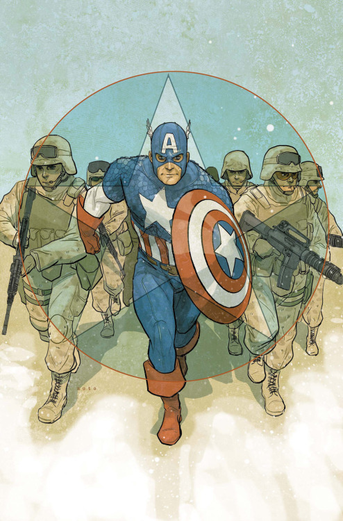 fuckyeahcaptainamerica:  iamalfff:  Captain America - Phil Noto  Captain America: Theater of War: To Soldier On