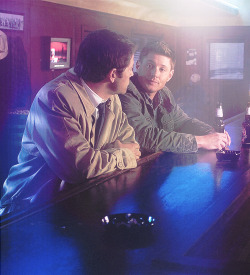 25/100 pictures of Dean and Castiel